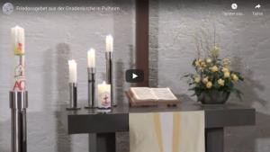 Friedensgebet im Februar – online