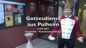 Gottesdienst zum Karnevalssonntag aus der Gnadenkirche in Pulheim