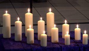 """""""Nacht der verlöschenden Lichter"""", Gottesdienst aus der Gnadenkirche"""